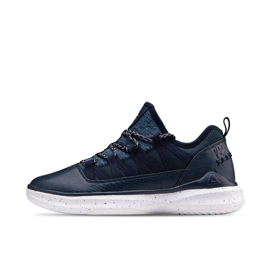 匹克 复古舒适篮球鞋 E64161B
