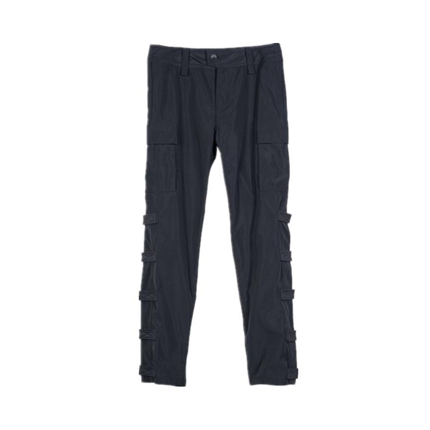 BONELESS 魔术贴拼接口袋工装裤