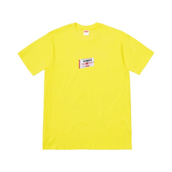 Supreme FW18 Luden's TEE LUDENS 樱桃糖果短袖T恤