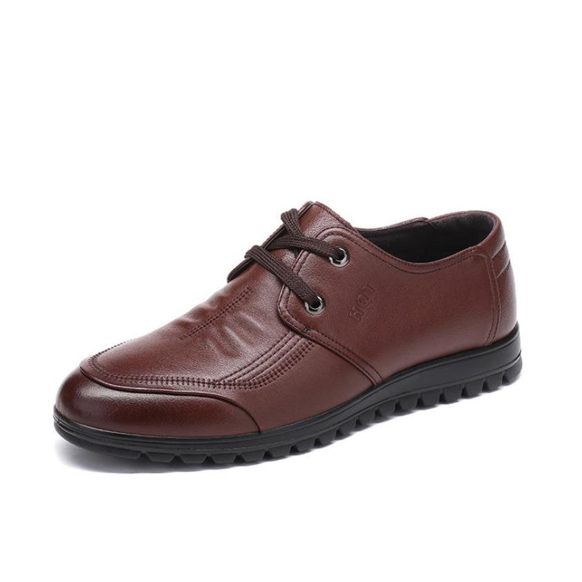 红蜻蜓 休闲皮鞋 WTA7486