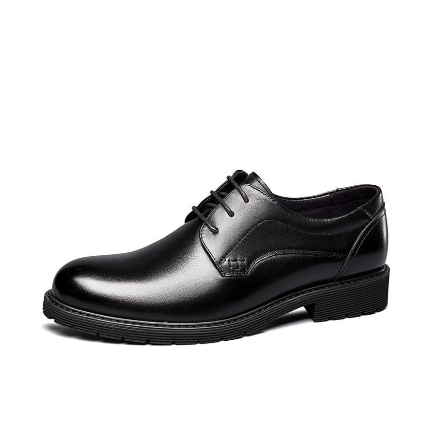 意尔康 正装皮鞋 105YZE67739WT
