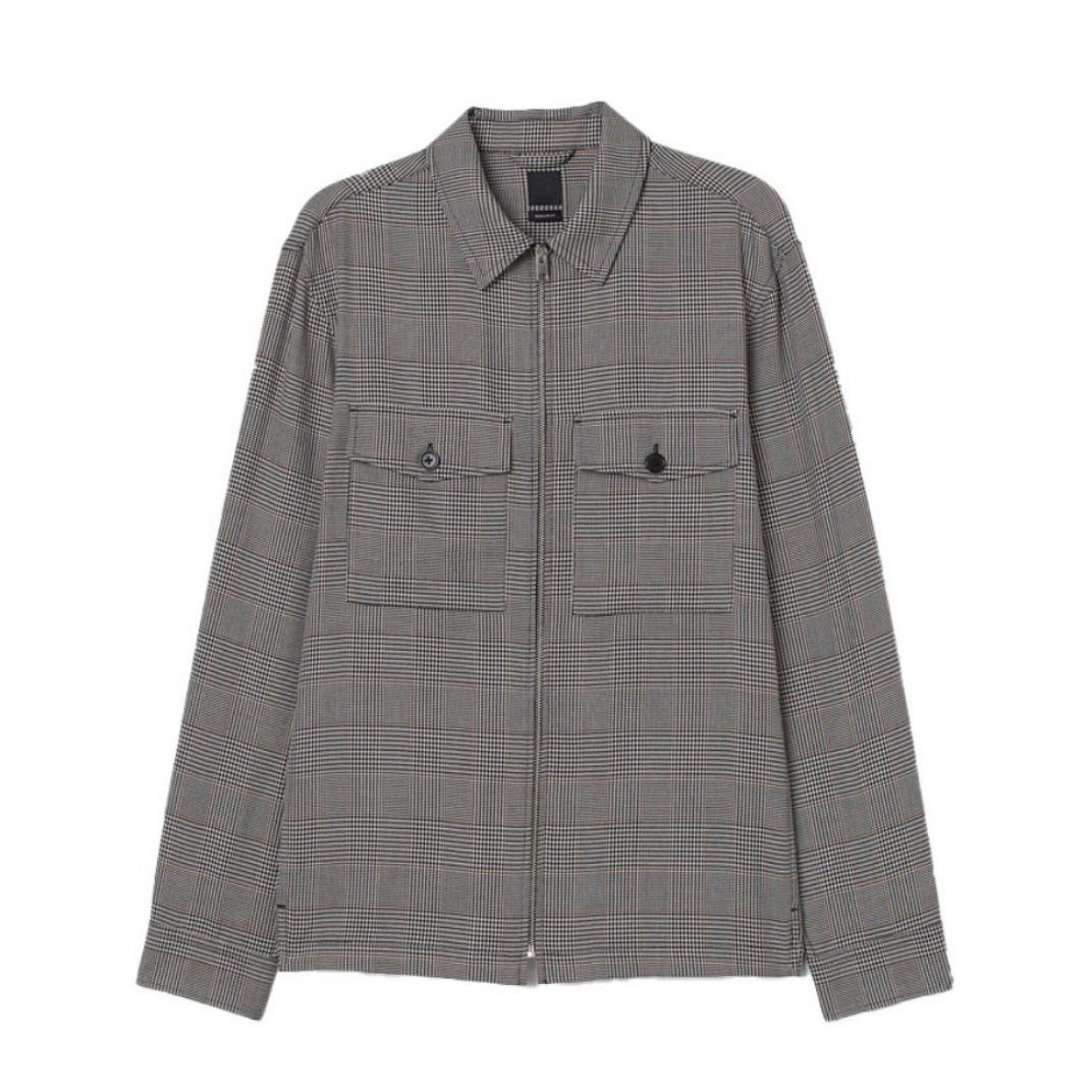 H&M AW20 衬衫式工装风夹克 0902059