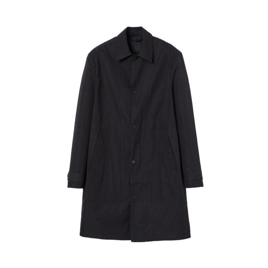 H&M 宽松长款毛呢大衣 0902841