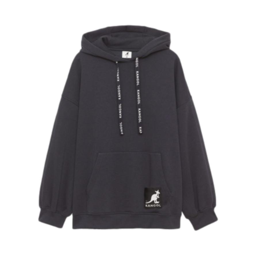 H&M HMXKANGOL限量款联名连帽卫衣 0914449