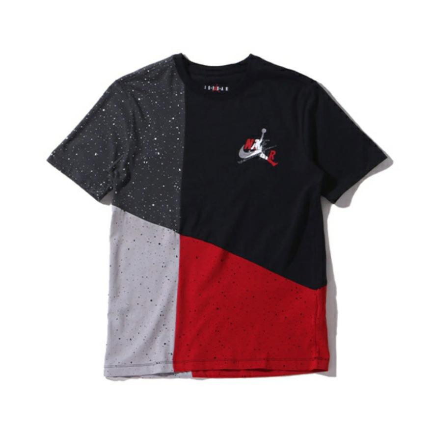 Jordan Brand JUMPMAN 混搭设计纯棉T恤 CU4561