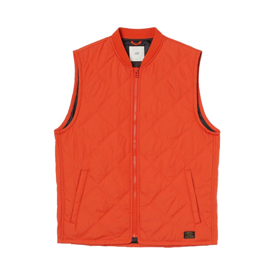 H&M AW20 拉链背心马夹外套 0894302