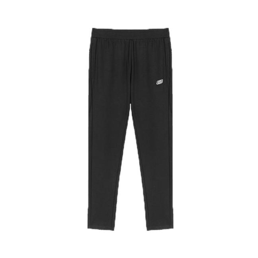 Skechers 女装 印花束脚针织休闲裤长裤 L320W142