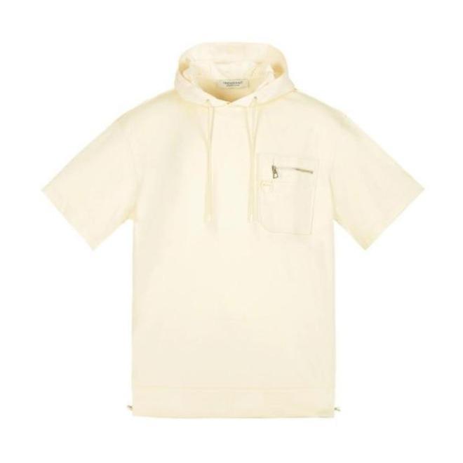 Trendiano 2021SS 棉连帽短袖T恤 3NC2021160