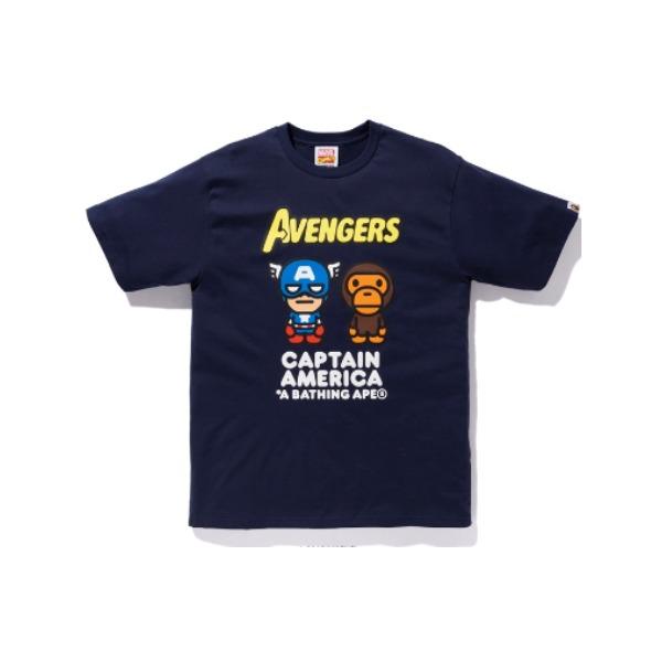 Bape X Marvel 联名 Milo Iron Man Tee 2F23-110-904