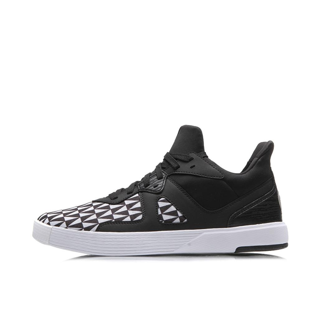 李宁 皮面篮球文化鞋 ABCM087