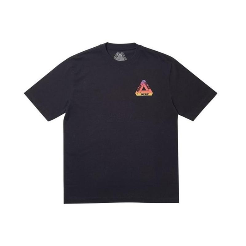 PALACE 19SS GLOBULAR 渐变彩虹球短袖三角球体T恤