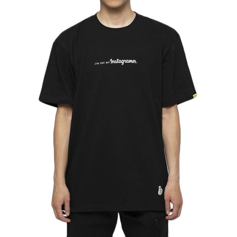 FR2 I'M NOT AN INSTAGRAMER 标语印花圆领T恤 FRC741