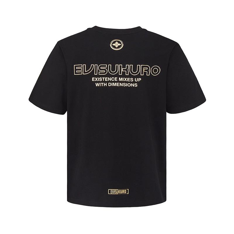Evisu AW20 标志印花短袖T恤 2EAGNM0TS578XX