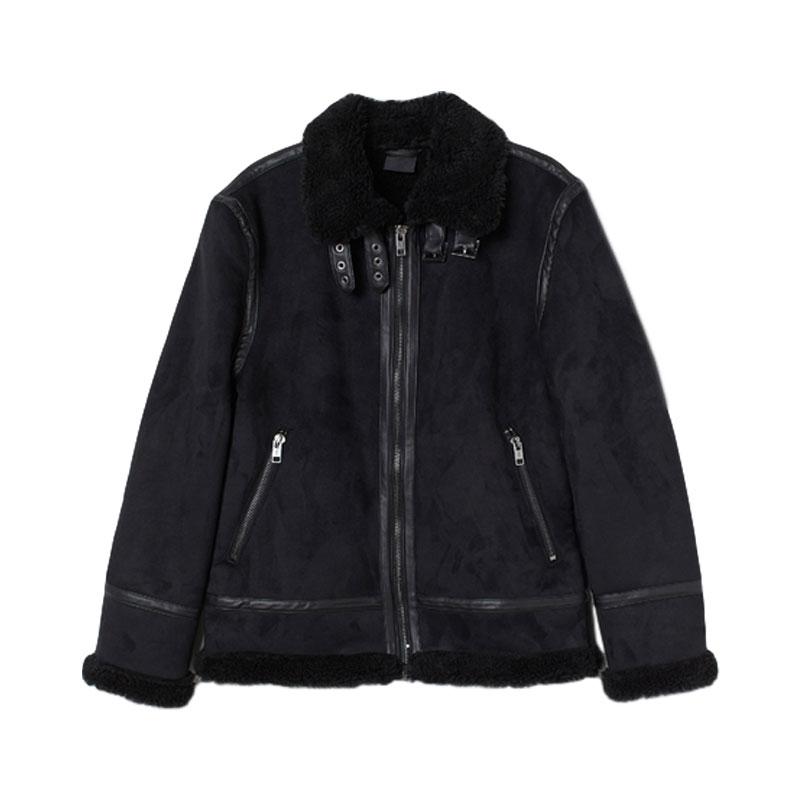 H&M AW20 保暖毛绒情侣外套 0769125