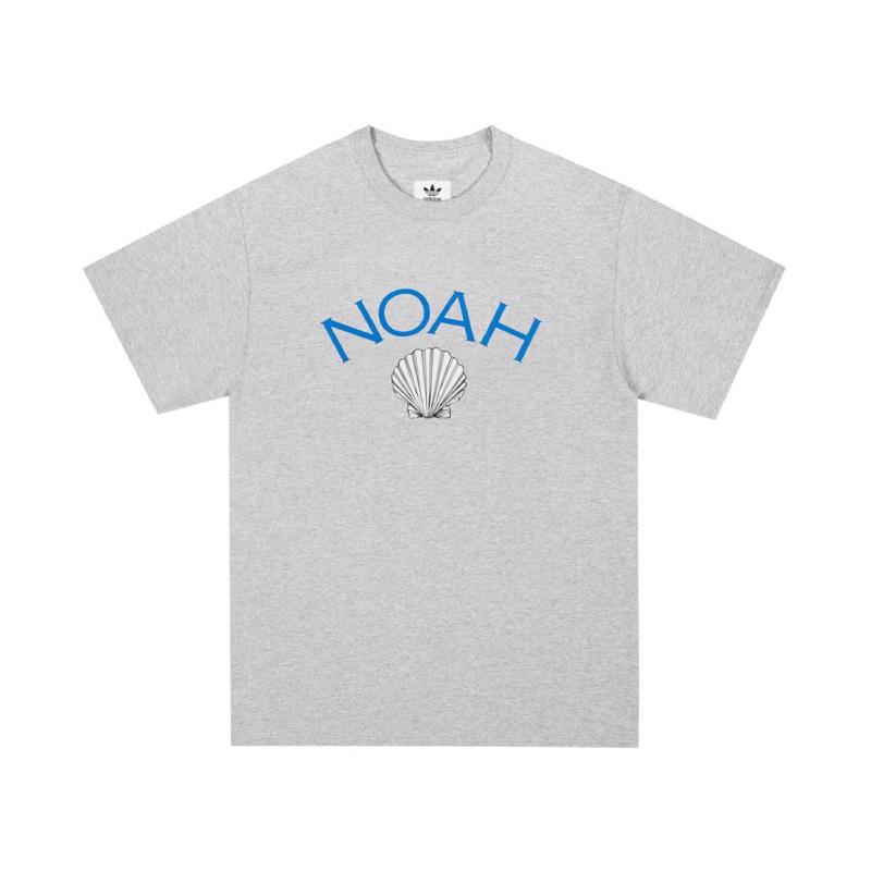 Noah  X  Adidas Shell Logo Tee 联名时尚贝壳口袋短袖T恤