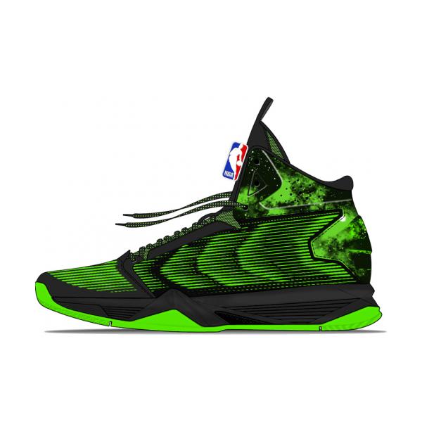 NBA鞋会 高帮耐缓震磨篮球鞋 71451106
