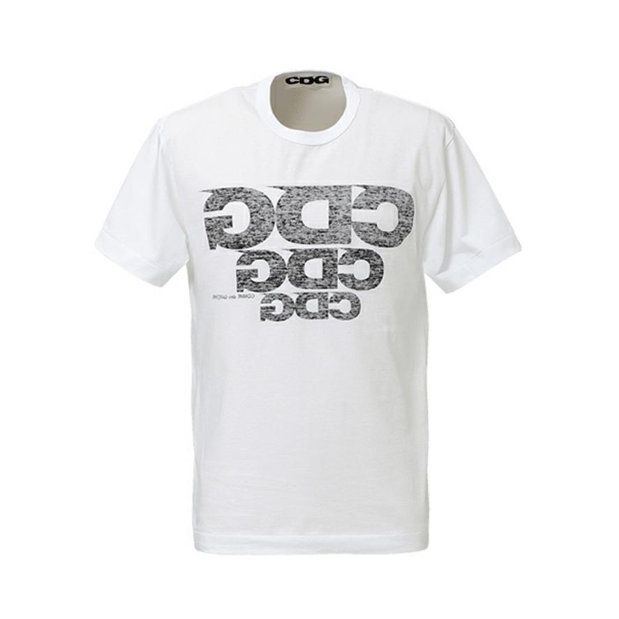 CDG 反印LOGO 短袖T恤