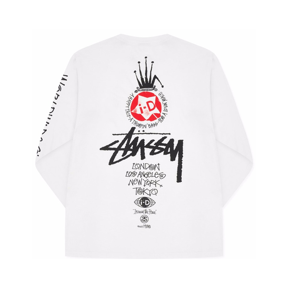 Stussy x heritage I-D 联名皇冠超限量T恤