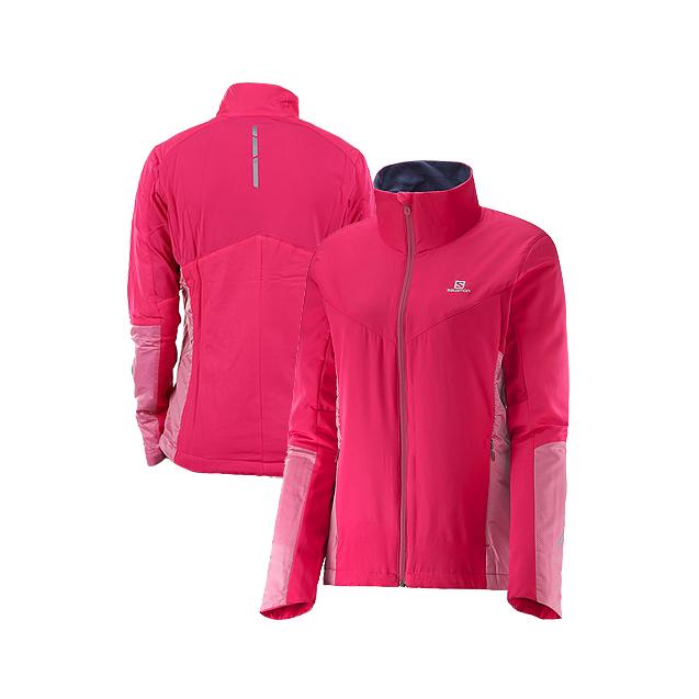 Salomon 女子跑步保暖夹克