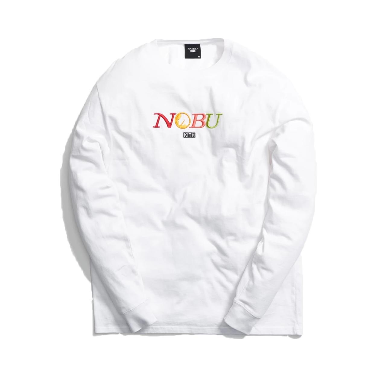 Kith x Nobu Multi Logo L/S Tee 联名长袖T恤