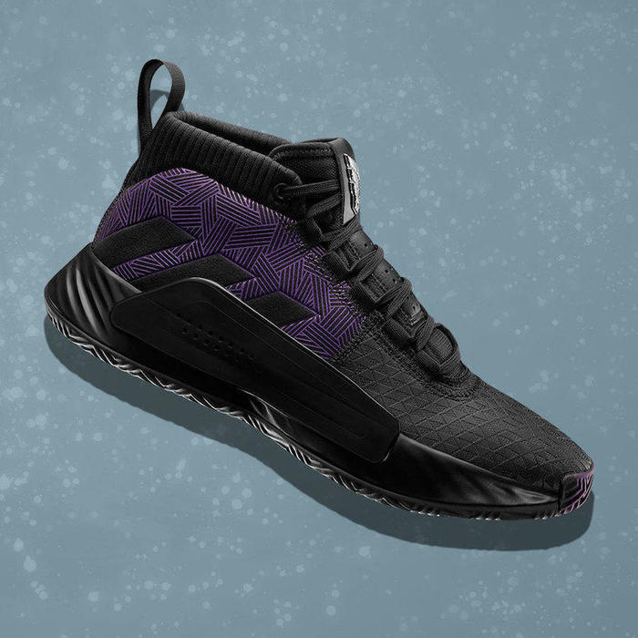 Marvel adidas Dame 5 Black Panther发布日期