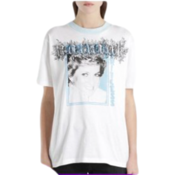 OFF-WHITE 白色女士短袖T恤 OWAA029S18778122 0188