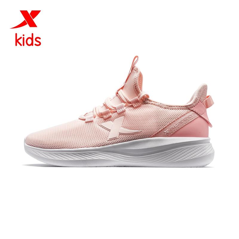 特步 跑步一脚蹬 童鞋
