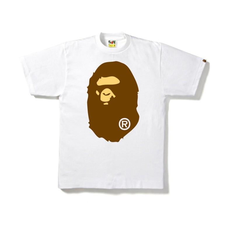 Bape Big Ape Head Tee White bape-ss18-009